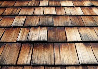 Altholz - Holzschindeln