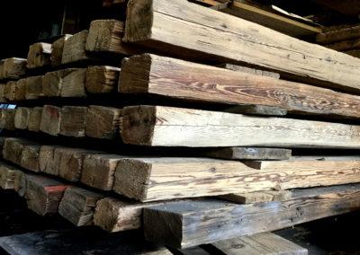Altholz Sparren – gebürstet