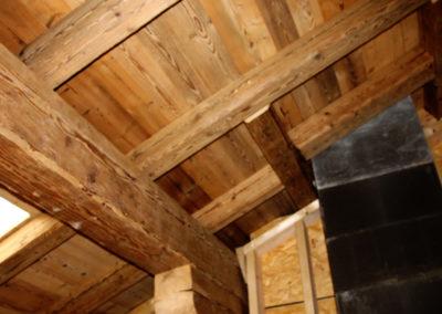 Dachausbau mit Dachschalungsbrettern